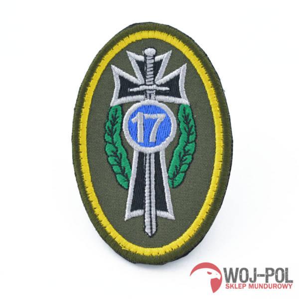 Oznaka  emblemat 17 wbz (wyjściowy) na rzep