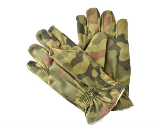Rękawice polowe wojskowe wz 612/mon