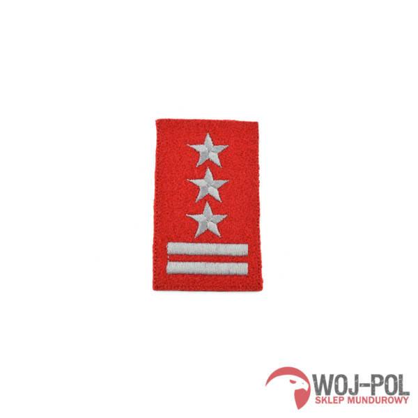 Stopień na beret szkarłatny haftowany pułkownik
