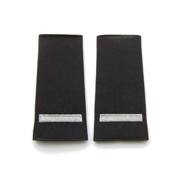Pagony (pochewki) czarne do polaru straży granicznej – starszy szeregowy