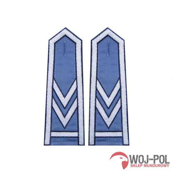 Pagony niebieskie do koszuli sw – starszy sierżant sztabowy