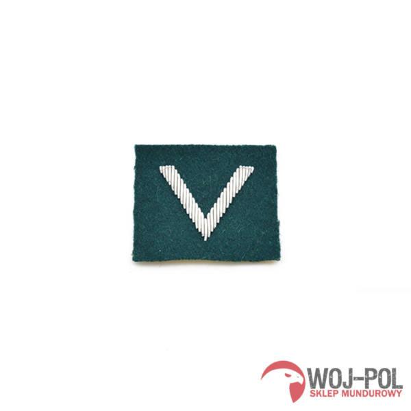 Sierżant na beret zielony haftowany bajorkiem