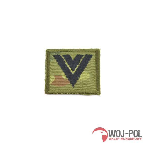Stopień do czapki polowej – wzór sg14 starszy sierżant