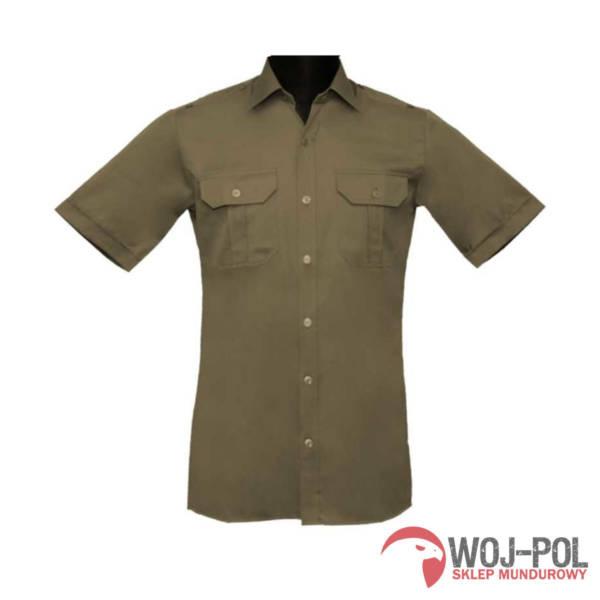 Koszulo-bluza oficerska 301d/mon  z krótkim rękawem