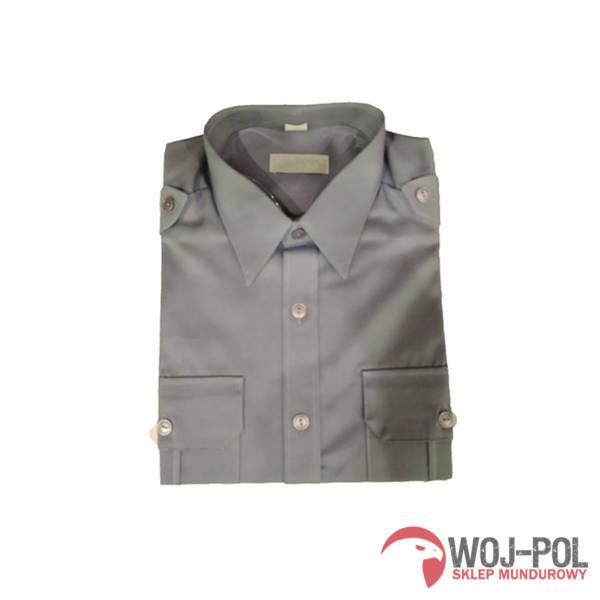 Koszulo-bluza oficerska 301/mon kolor stalowy z długim/krótkim rękawem
