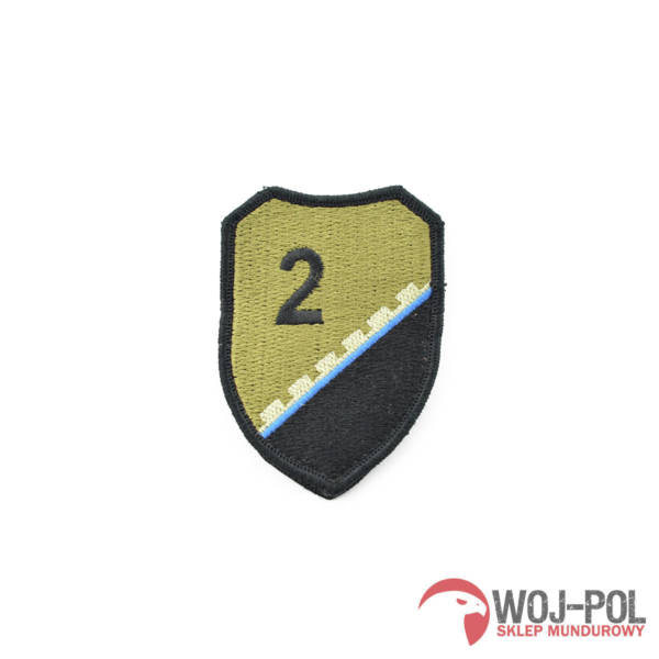2 pułk saperów z kazunia naszywka polowa rzep