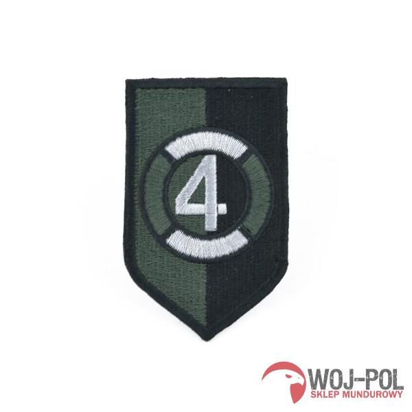 4 głogowski batalion inżynieryjny naszywka polowa