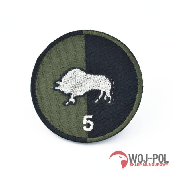 5 batalion saperów naszywka polowa rzep