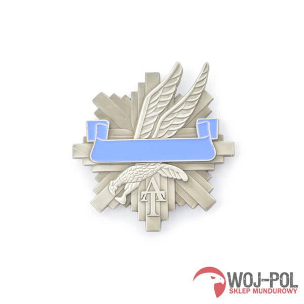 Blacha odznaka at z grawerem