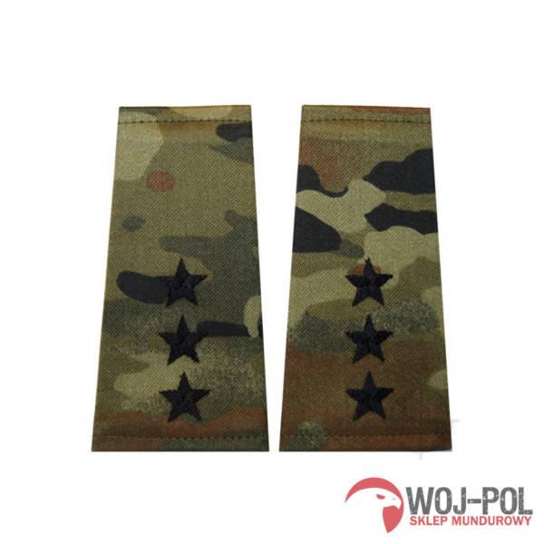Pagony (pochewki) polowe – wzór sg14 – porucznik