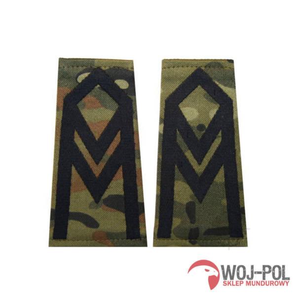 Pagony (pochewki) polowe – wzór sg14 – starszy sierżant
