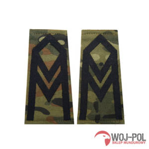 Pagony (pochewki) polowe - wzór SG14 - starszy sierżant