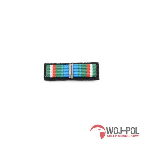Baretka odznaka zasłużony dla służby celnej srebrna