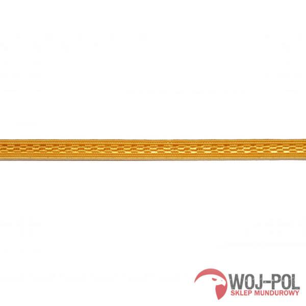 Taśma dystynkcyjna żółta 8mm straż pożarna