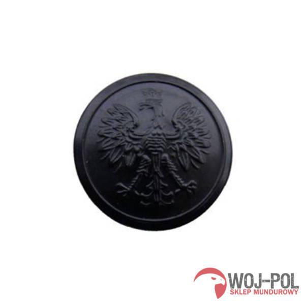Guzik wzór administracyjny czarny 22 mm