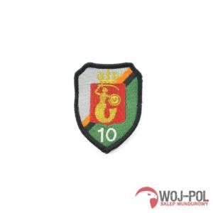 10 Warszawski Pułk Samochodowy naszywka polowa