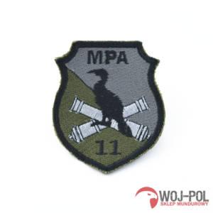 11 Mazurski Pułk Artylerii naszywka rzep