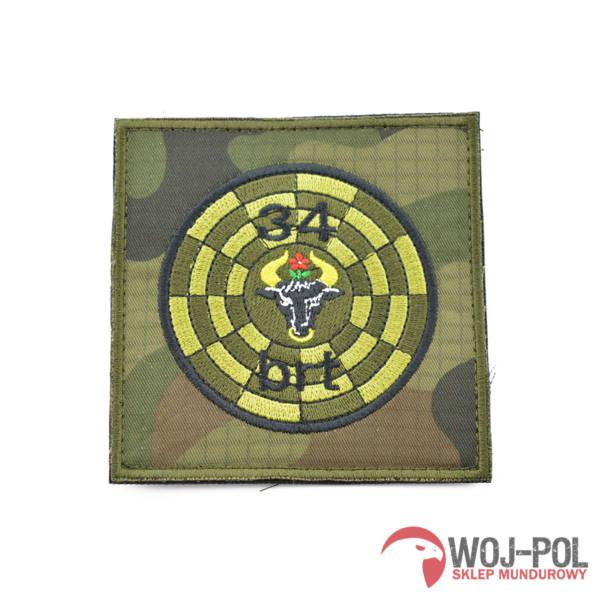 34 batalion radiotechniczny naszywka polowa