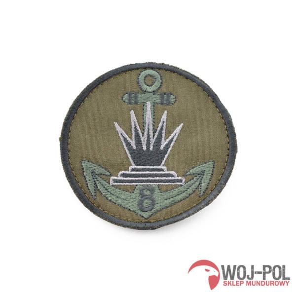 8 kołobrzeski batalion saperów polowa naszywka