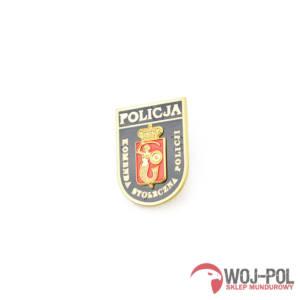 Blacha Pins Komenda Stołeczna Policji