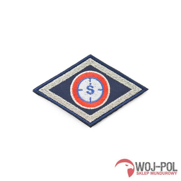 Emblemat policji romb wydział Śledczy