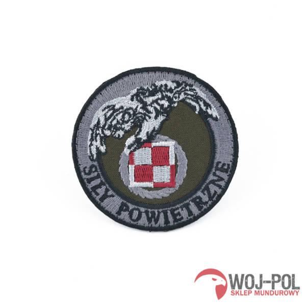 Emblemat sił powietrznych naszywka polowa rzep