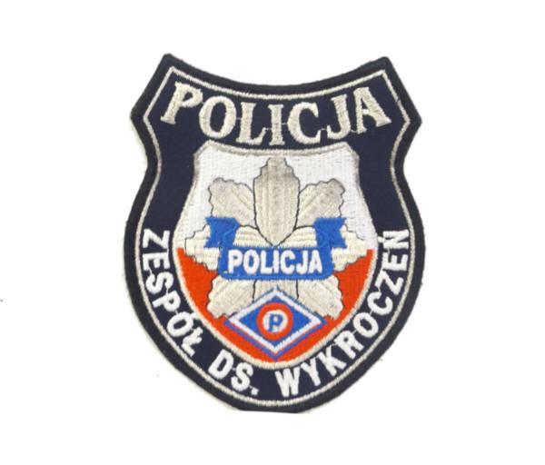 Zespół ds. wykroczeń policja naszywka nowy wzór