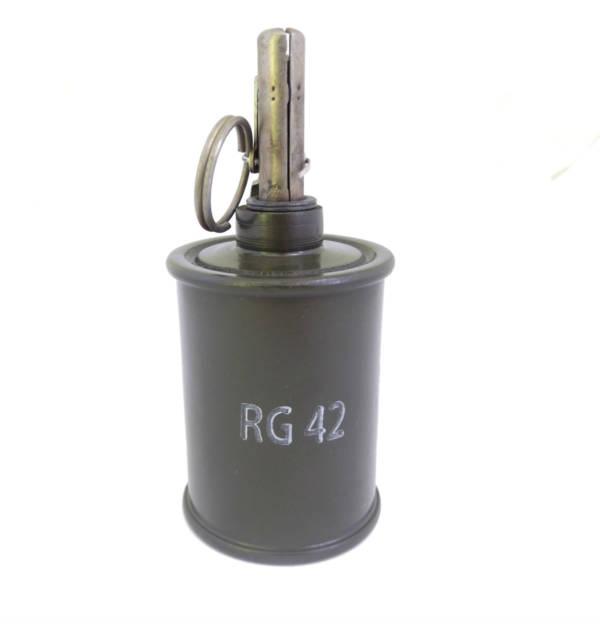 Replika granatu rg 42 z oryginalnym zapalnikiem