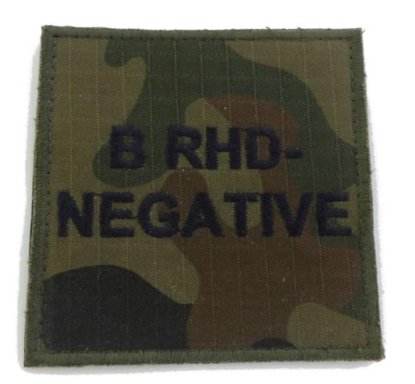 Grupa krwi b rhd- negative wz 2010