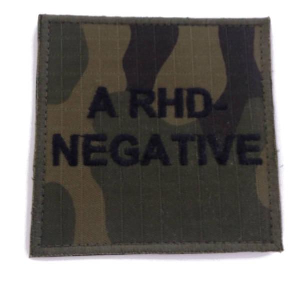 Grupa krwi a rhd- negative wz 2010