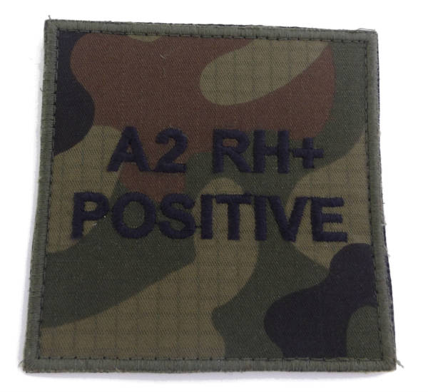 Grupa krwi a2 rh+ positive wz 2010