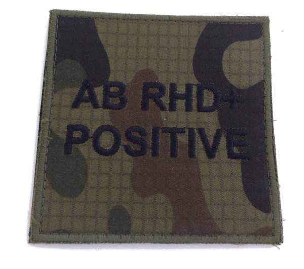 Grupa krwi ab rhd+ positive wz 2010