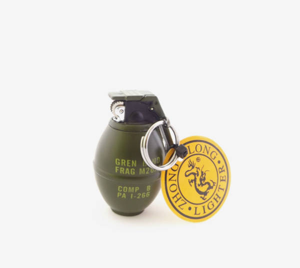 Brelok granat zapalniczka
