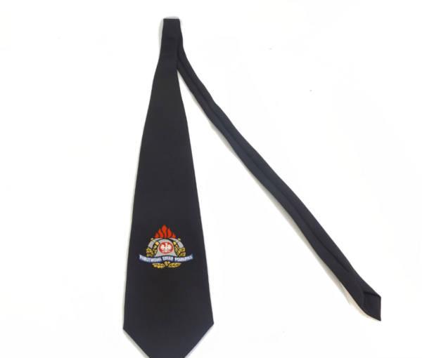 Krawat paŃstwowa straŻ poŻarna z logo