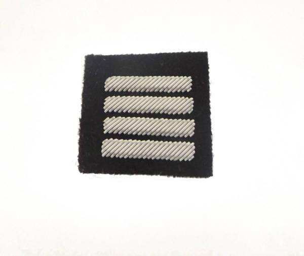 Plutonowy na beret czarny haftowany bajorkiem