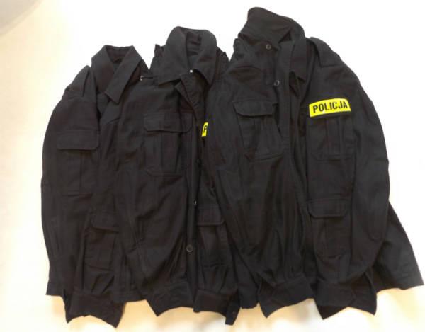 Bluza czarna policji oryginał uŻywane