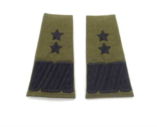 Pagony straży granicznej nowy wzór – generał dywizji