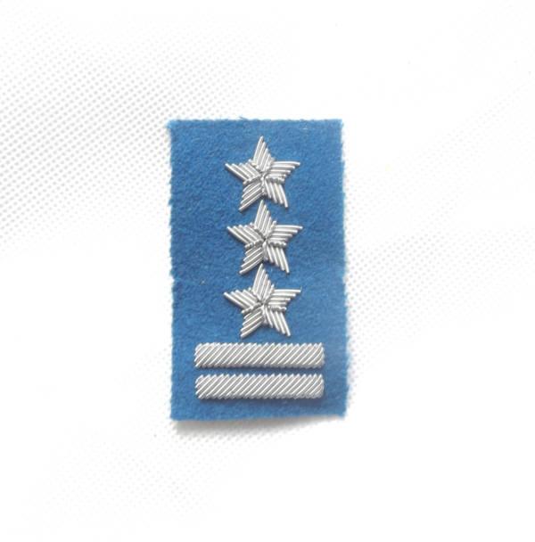 Pułkownik na beret niebieski haftowany bajorkiem