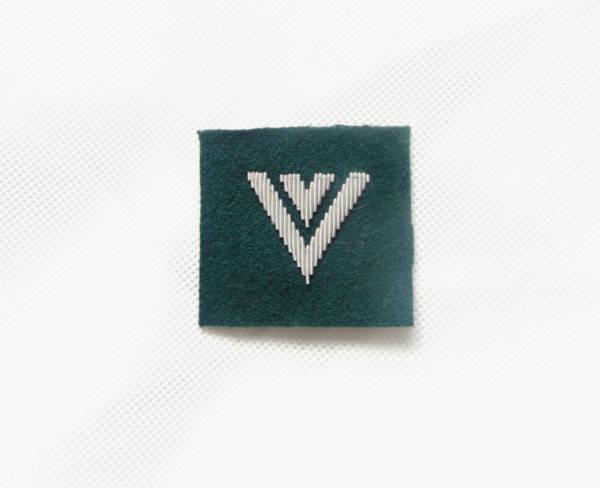 Starszy sierżant na beret zielony wyszyty bajorkiem