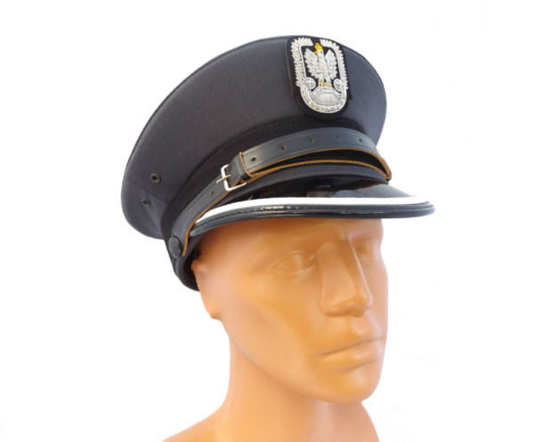 Czapka garnizonowa sił powietrznych oficer młodszy nowy wzÓr