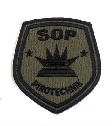 Naszywka sŁuŻba ochrony paŃstwa pirotechnik