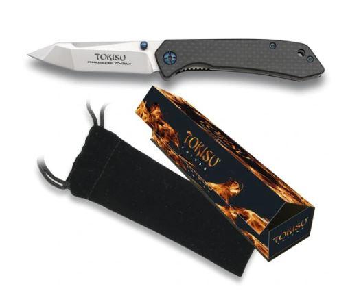 Nóż scyzoryk g10 tokisu model 18451