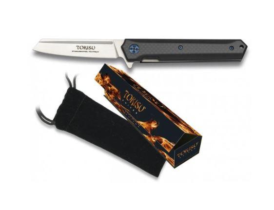 Nóż scyzoryk g10 tokisu model 18450