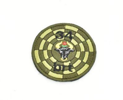 34 batalion radiotechniczny naszywka okrągła