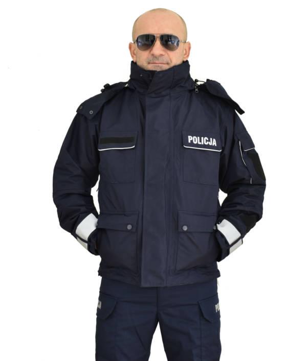 Kurtka zimowa policji
