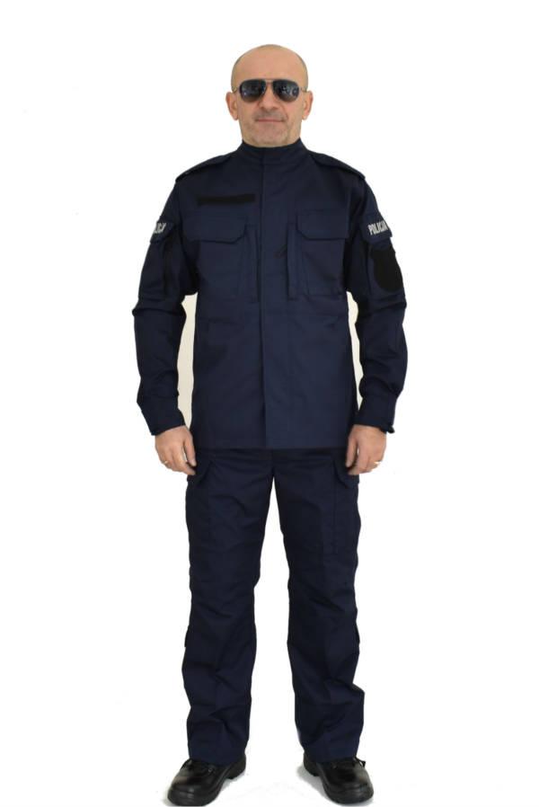 Mundur ćwiczebny policji wzrost 172