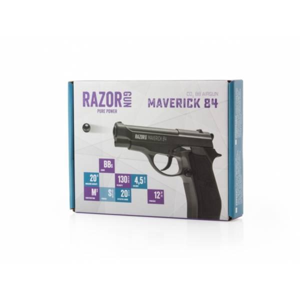 WiatrÓwka pistolet maverick m84 4,5 mm bb co2