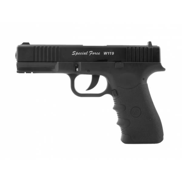 Pistolet wiatrówka  w119 b-b 4,5 mm bb co2