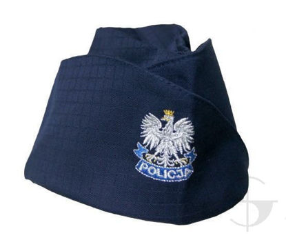 Furażerka policji do munduru ćwiczebnego uŻywana