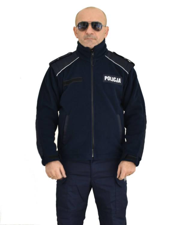 Polar granatowy policji oryginał